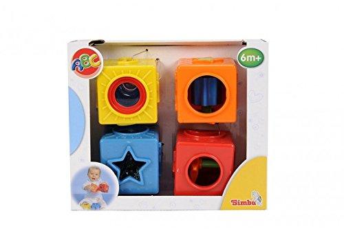 Simba 104013749 ABC bébé Cube de motricité