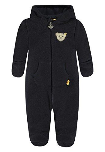 Steiff Steiff Baby-Mädchen Overall 1/1 Arm Fleece Schneeanzug, Blau (Marine|Blue 3032), 62