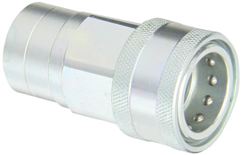 Dixon Valve 6 agf6 de PV Steel Poppet style Agricultural Interchange Ball Valve Hydraulic Fitting, Socket, 3/4 Coupler X 3/4–14 NPTF Female Thread by Dixon Valve & Coupling