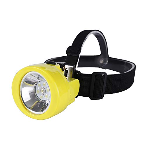 Hunting friends Safety Mining Lamp, White Light Rechargeable Headlamp Miners LED Coon Hunting Lights Waterproof & Explosion-Proof Camping Lights Hard Hat for Night Running Fishing