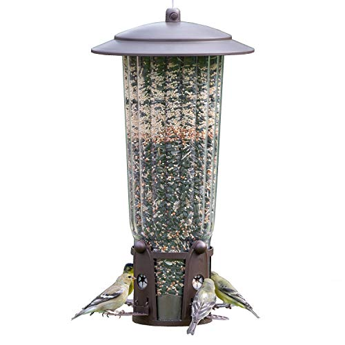 Perky-Pet 334-1SR Squirrel-Be-Gone Max Bird Feeder with...