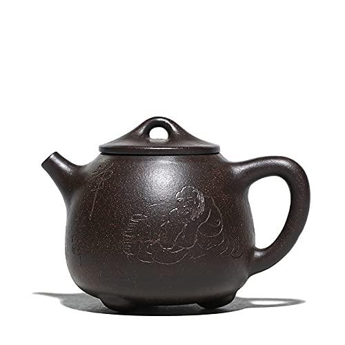 tetera Yixing Purple Sand, Zisha Pot, Juego De Té, Utensilios Para Beber, Cuchara De Piedra Alta, Vasos, Teaware, Cultura Hecha A Mano, Traje Para Verde
