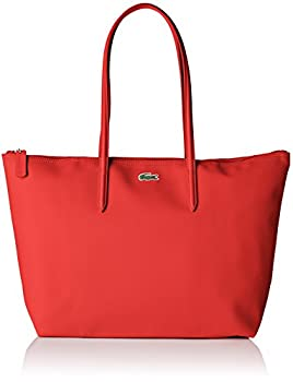 Lacoste NF1888, Sac Bandouliere Femme, Rouge (High Risk Red), 14x29.5x35 cm (W x H x L)
