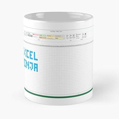 N\A Taza clásica Azul Ninja de Excel, 11 oz