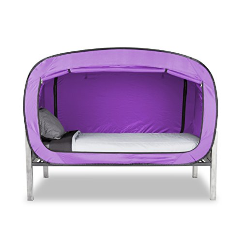 Privacy Pop Bed Tent (Twin) - Lavender