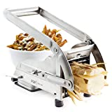 POP AirFry Mate Stainless Steel French Fry Cutter, Commercial Grade Vegetable and Potato Slicer,...