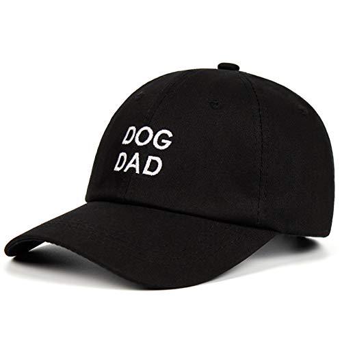 Yhtdhaq Sombrero Bordado Personalizado Hecho a Mano Gorra de béisbol Sombreros de Moda,Negro