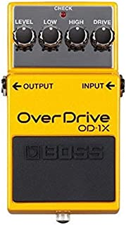 BOSS 4 String Special Edition Overdrive Guitar Pedal (OD-1X)