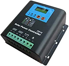 GOWE 50A 96V PWM Solar Charge Controller with LED&LCD Display, Auto-Identification Voltage, MCU design with excellent performance