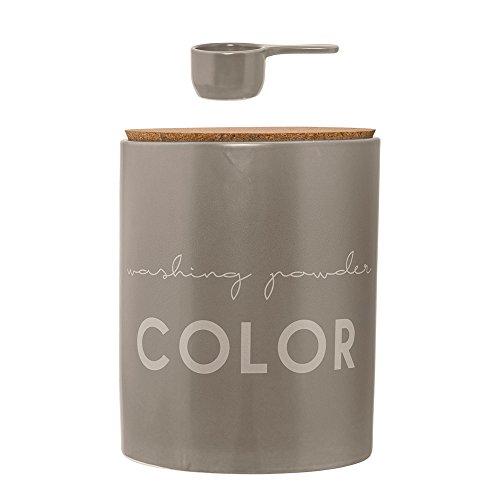 Bloomingville Vorratsdose aus Keramik für Waschmittel Color