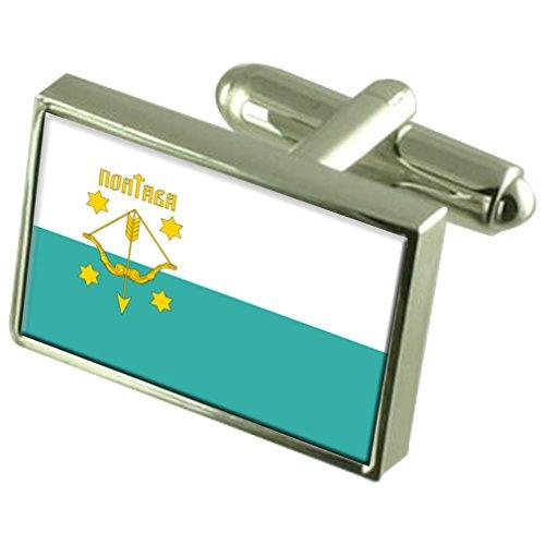 Poltava Città Ucraina bandiera gemelli incisi Box