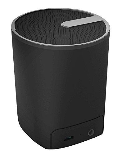 Acme Made SP109 3W Schwarz - Tragbare Lautsprecher (3 W, 90-20000 Hz, 80 dB, Verkabelt & Kabellos, 2.0+EDR, 10 m)