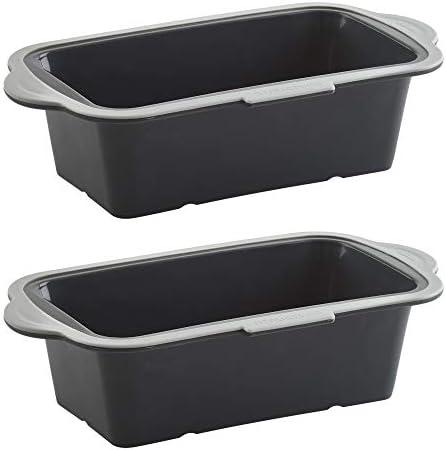 Trudeau Loaf Pan Bundle Black Gray Set of 2 2 Items product image