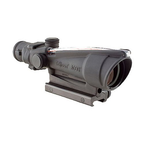 Trijicon TA11J-308 ACOG 3.5x35mm Dual Illuminatedx 40mm, Red Crosshair .308 Ballistic Reticle with TA51 Mount, Black
