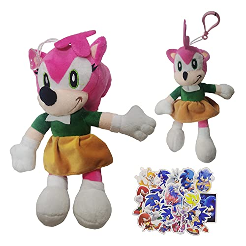 Peluche de Dibujos Animados Sonic Nuevo ratón supersónico Sonic Cartoon Plush Toys Doll Game Tales Na Cruz Doll Stall
