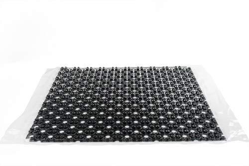 Flächenheizung Fußbodenheizung Mini-Noppenplatte Heizung 1x1 Meter
