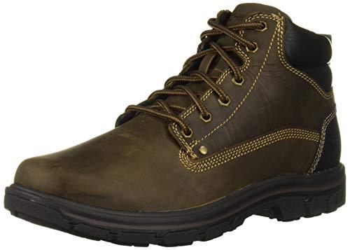 Skechers mens Segment- Garnet Hiking Boot, Dark Brown, 10.5 US