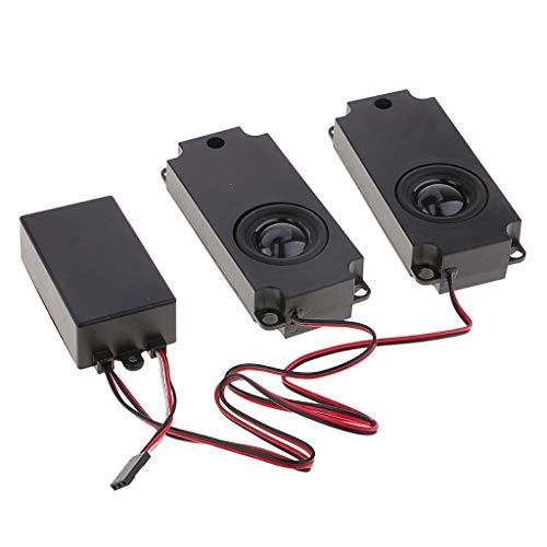 SM SunniMix Sound Simulation System Aus Metall Mit Lautsprecher Für Hsp 94123 1/10 RC Car