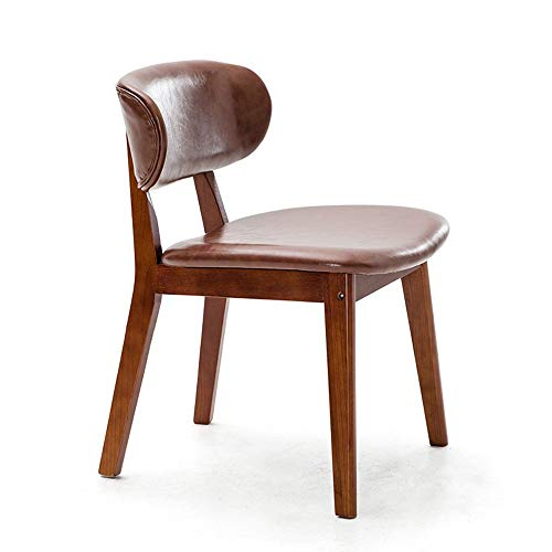 ZZP Chairs Modern Furniture Solid Wood Dining Adult Armchair Child,1002,Marrón claro