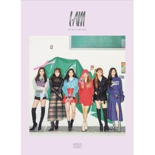 (G) I-DLE - [I Am] 1st Mini Album CD+100p Booklet+2p PhotoCard+2p Sticker K-POP Sealed