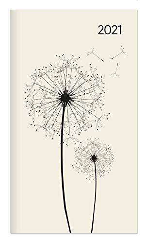 Miniplaner Style Pusteblumen 2021 - Taschen-Kalender 9x15 cm - Weekly - 64 Seiten - 1 Seite 1 Woche - Notiz-Heft - Alpha Edition