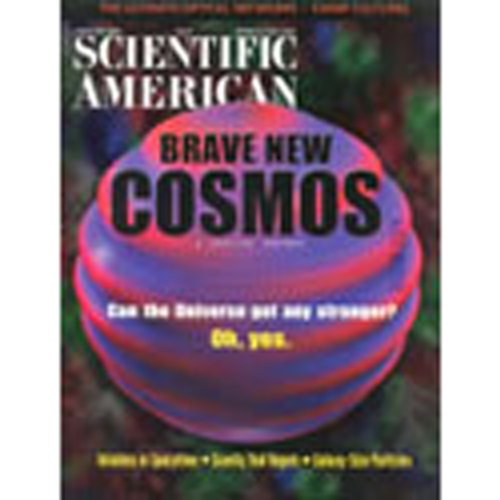 Scientific American, January 2001 audiobook cover art