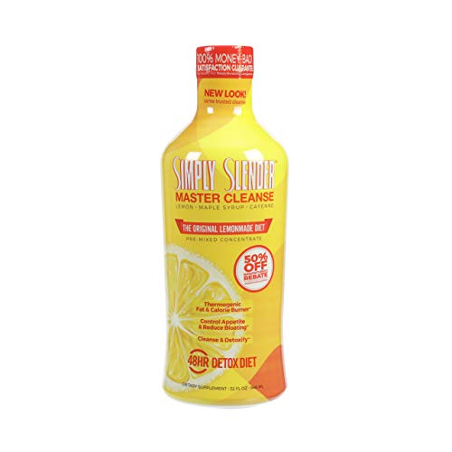 Simply Slender 48-Hour Master Cleanse, Detox Lemonade, 32oz