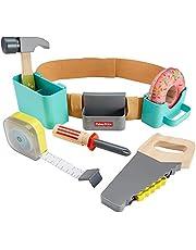 Mattel GGT60 Fisher-Price DIY Tool Belt (8 Pieces),Multi