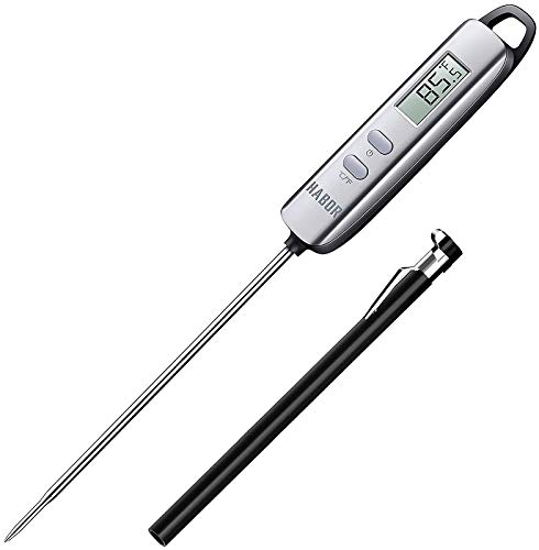 Habor 022 Meat Thermometer, Instant Read Thermometer Digital Cooking Thermometer, Candy Thermometer...