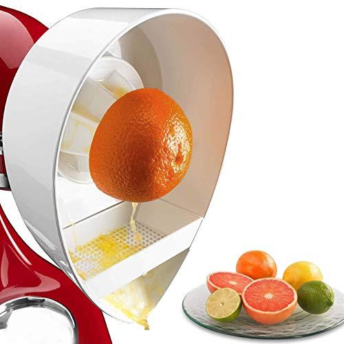 Zitruspresse Aufsatz, KitchenAid Zubehoer, Zitrussaftpresse-Aufsatz Für JE-Standmixer Für KitchenAid Küchenmaschinen 5JE Entsafter Zubehör