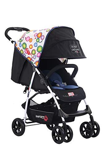Baciuzzi Italy, leichter, Buggy, Essential, atmungsaktiver Kinderwagen, faltbar mit einfacher Einhandklappung, zugelassen bis 15 kg, Kinderwagen mit Zubehör, B-Zero Ellas