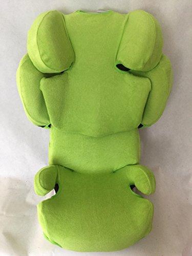 Sommerbezug Schonbezug für Cybex SOLUTION Q, Q-fix, Q2-fix, Q3-fix Frottee 100{a71acc04f4e391d17652a90c2bca4a482d8f114918d1fa35df27eadf01443b49} Baumwolle grün