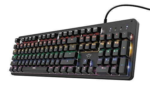 Trust Gaming GXT 863 Mazz Mecanizado Tastatur - Negro
