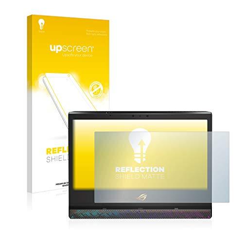upscreen Entspiegelungs-Schutzfolie kompatibel mit Asus ROG Mothership – Anti-Reflex Bildschirmschutz-Folie Matt