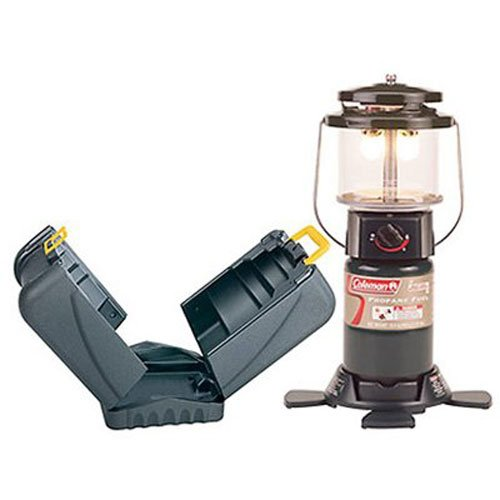 Coleman Portable Propane Deluxe Lantern with Hard Case