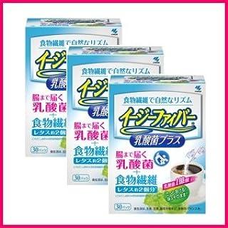 小林製薬 イージーファイバー乳酸菌プラス 204g(6.8g×30パック)×3箱セット