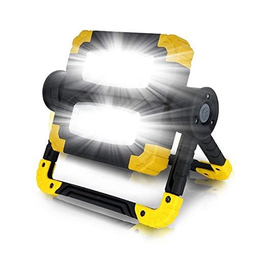 Changskj Suchscheinwerfer New7500lm Led beweglichen Scheinwerfer wasserdichte Scheinwerfer Led 150W LED-Arbeitslicht Gebrauch 4 * AA-Batterie