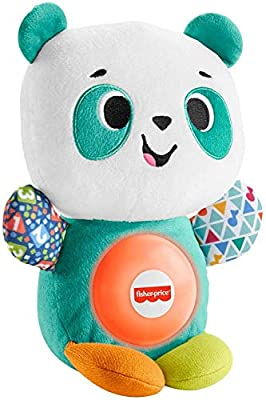 Fisher-Price Linkimals Play Together Panda, musical learning plush toy for babies and toddlers from Fisher-Price