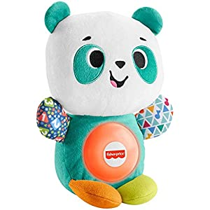 Fisher-Price Linkimals Play Together Panda, musical learning plush toy for babies and toddlers - 41Xuw lnaDL - Fisher-Price Linkimals Play Together Panda, musical learning plush toy for babies and toddlers