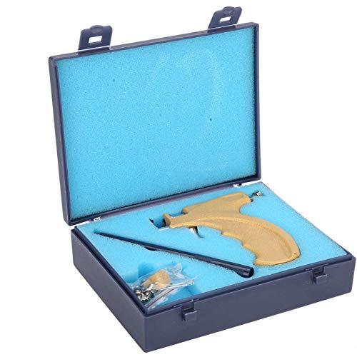 Ear Piercing Tool Kit, Earring Pericings Gun Tools Set Ears Nose Navel Lip Piercer Machine Studs Stainless Steel Body Hole Peircing Peicing Guns Stud Earrings For Salon Home Pearcings Kits