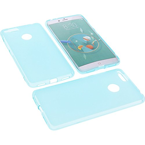 foto-kontor Tasche für Archos Diamond Alpha Plus Gummi TPU Schutz Handytasche blau