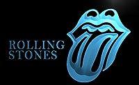 Rolling Stones LEDネオンサインブルー
