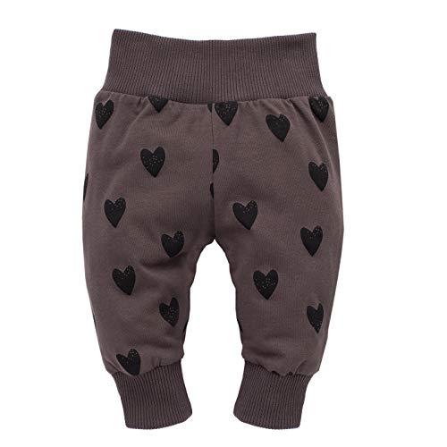 Pinokio - Little Bird - leggings meisjesbroek met elastische band baby kinderen meisjes 95% katoen joggingbroek harembroek bruin rood roze 56-92 cm