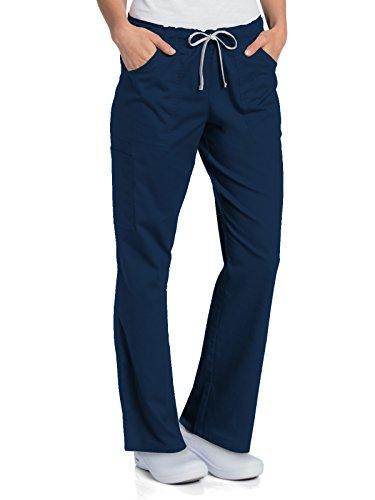 commercial Landau Old Day 2035 Ladies Cargo Pants Full Elastic Navy Blue M. landau comfort shoes