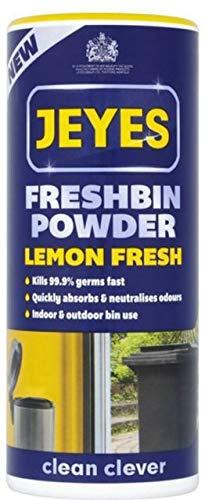 Fluid Mülltonnen-Pulver von Jeyes, (Geruch: Zitrone)