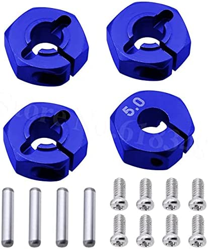 SDUIXCV Max 90% OFF 20 Sets Aluminum 5.0 Wheel Now on sale 12mm Drive Pins Hex with Hubs