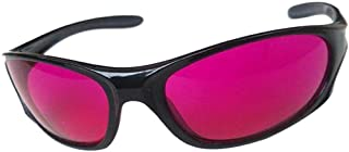 OUTAN Pink Resin Red-Green Color Blind Glasses for Red Green Color Blind UV400 Protect Care Outdoor Sports For Men Cycling...