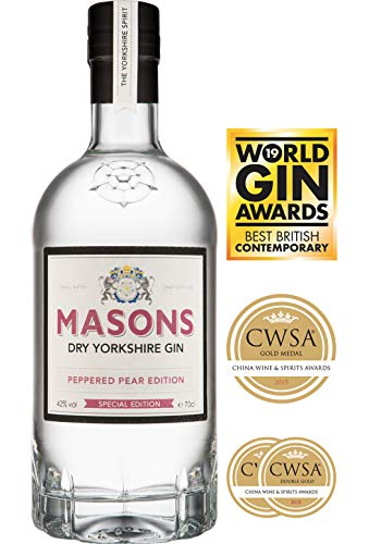 Masons Yorkshire Peppered Pear Gin, 70 cl