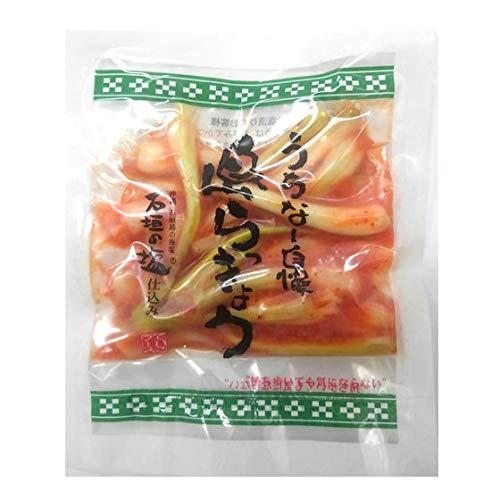 沖縄県産 島らっきょうキムチ 50g でいごフーズ×12袋 石垣の塩仕込み シャキシャキの食感の島らっきょうピリッとキムチ味