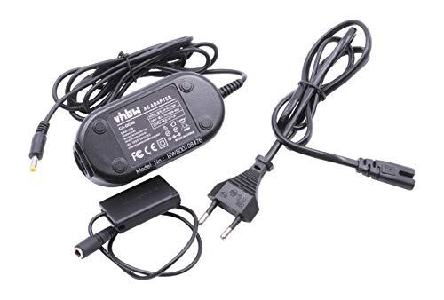 vhbw Kamera-Netzteil Ladegerät für Canon PowerShot G7x Mark II inkl. Adapter NB-13L, DR-110.